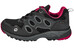 Jack Wolfskin Venture Fly Trail Running Shoes Women Texapore Low red fire